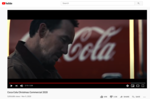 Coca-Cola Christmas commercial of 2020